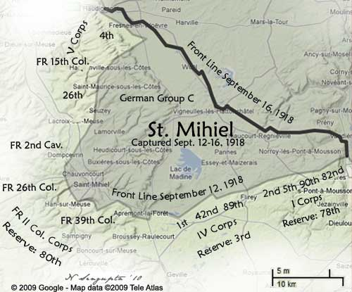 """a history of the offensive at st mihiel during the world war i Saint mihiel offensive  of the american expeditionary forces during the first world war and was """"probably the bloodiest single battle in us history""""."""
