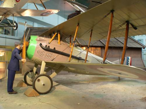 Spad XIII airplane